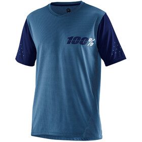 100% Ridecamp Bike Jersey Shortsleeve Men blue